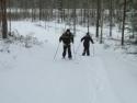 Skilaufen Bergauf